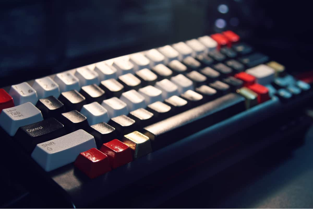 computer keyboard for programmers
