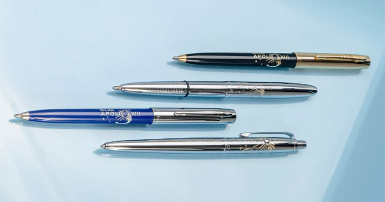 A collection of Fisher space pens