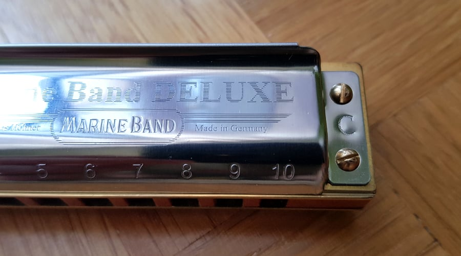 My The Hohner Marine Band Deluxe harmonica - Made in Germany