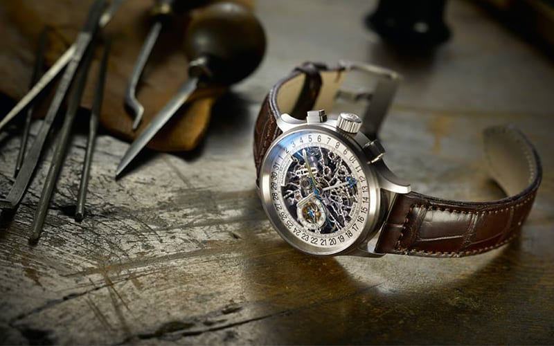 kobold watch on a table