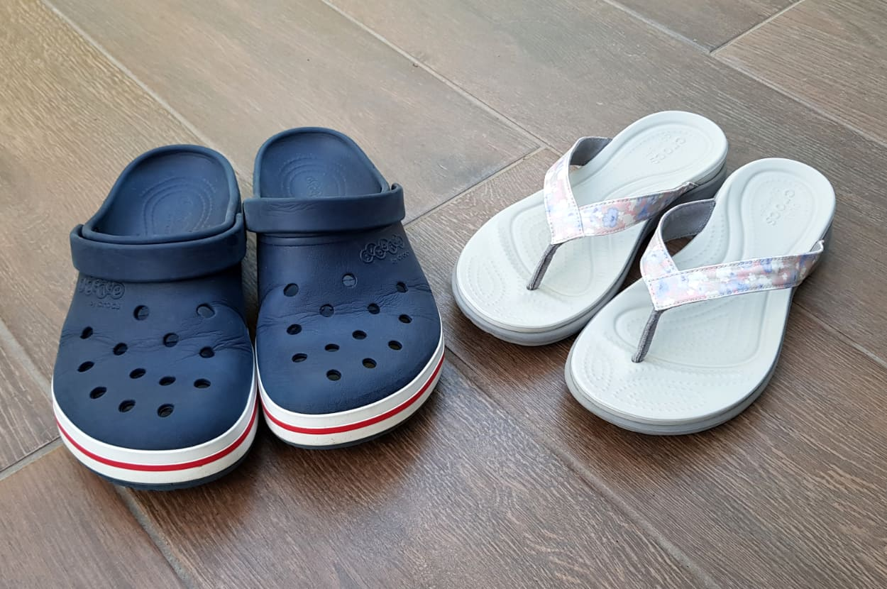 pair of crocs - feature image